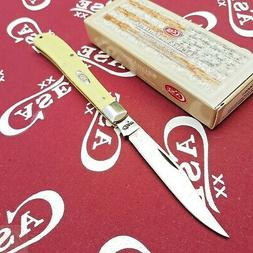 Case 031 Yellow 31048 CV Slimline Trapper Knife