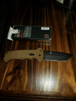 Gerber 06 FAST Assisted Opening Clip Folding Knife, Coyote B