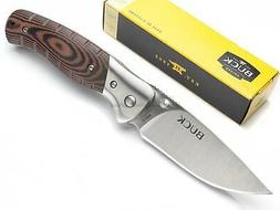 Buck 0835BRS-B Small Folding Selkirk Knife