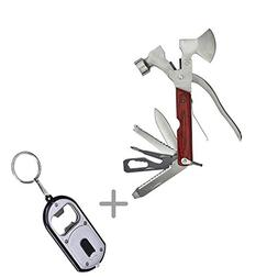 Meanhoo 10 in 1 Hammer Axe Outdoor Pocket tools Sport Camp B
