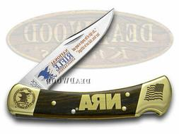 Buck 110 Folding Hunter Knife NRA National Rifle Association
