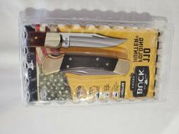 110 genuine ebony wood folding hunter knife