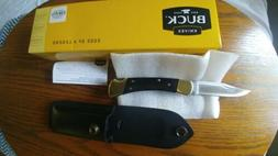 110brs folding hunter ebony pocket knife