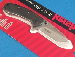 """Kershaw Cryo G-10 Pocket Knife  2.75"""" Stonewashed Stainles"""