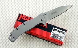 * 1730SS Kershaw Zing SS folding pocket knife frame lock ass
