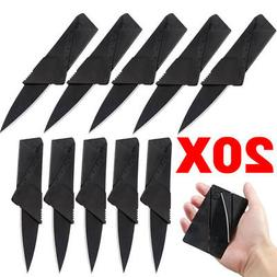 20 X Credit Card Knives Lot Folding Wallet Thin Pocket Survi