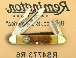 Remington 2011 Boy Scout Pocket Knife Folding Blades Utility