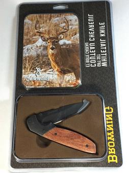 Browning 2017 Whitetail Deer Knife with Tin