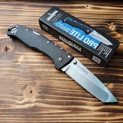 Cold Steel 20NST Pro-Lite Tanto Black FRN Handle Lockback Fo