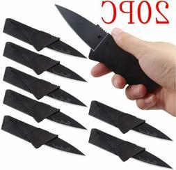 20x Credit Card Knives Lot Folding Wallet Thin Pocket Surviv