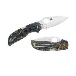 Spyderco C152RNP Chaparral Raffir Noble, Brass Folding Blade