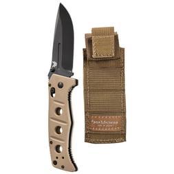 Benchmade 275 Adamas Folding Knife Sand G10 Handle with Shea