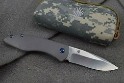 KIZER 4478 VELOX 2 FOLDING FLIPPER KNIFE S35VN STAINLESS & T
