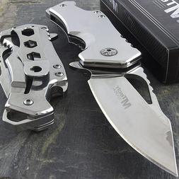 """5.75"""" M-TECH USA SPRING ASSISTED FOLDING POCKET KNIFE w/ BOT"""
