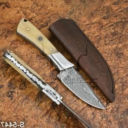 5447 | Black Buck's Damascus Steel Skinner/Hunter/Bush Craft