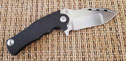 KIZER 5486 MADDOX FLIPPER FOLDING KNIFE S35VN STEEL BLACK TI