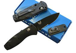Benchmade 585SBK Mini Barrage Assisted Opening Knife with FR