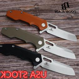 "7.9"" Knives Ball Bearing Flipper Folding Knife Survival Kniv"
