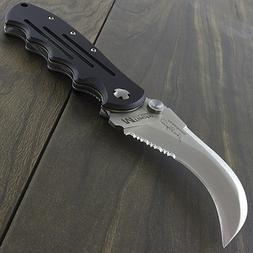 "8.25"" HAWKBILL M-TECH USA FOLDING POCKET KNIFE Fishing Skinn"