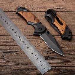 8.3'' Survival Outdoor Tool With Wood Handle <font><b>knife<