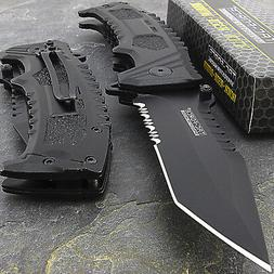 """8.5"""" TAC FORCE SURVIVAL TANTO SPRING ASSISTED TACTICAL FOLDI"""