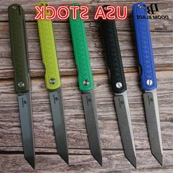 """8.5"""" FH11 60-61HRC Knives 5 Color D2 Blade G10 Handle Foldin"""