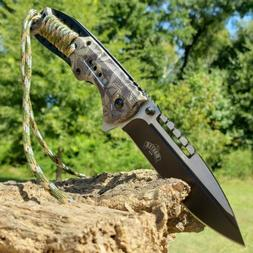 """8.75"""" Tactical Hunting Pocket Knife Open Assisted Folding Kn"""