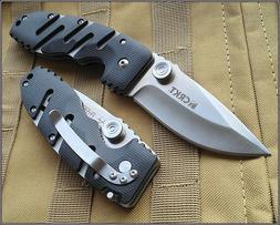 8 INCH CRKT RYAN SEVEN TACTICAL FOLDING KNIFE RAZOR SHARP BL