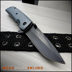 "8"" SPRING FOLDING KNIFE Tactical Open Assist Carbon Fiber Po"