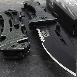 "8"" MTECH USA METALLIC SPRING ASSISTED FOLDING POCKET KNIFE E"