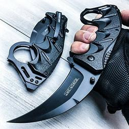 "8"" Spring Assisted Open Folding Pocket Knife BestSeller989 K"