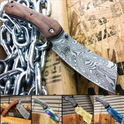 "8"" Tactical CLEAVER Pocket Knife Razor Assisted Open Folding"