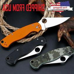 "8"" Tactical Pocket Folding Knife Military Survival EDC Blade"