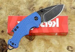 * 8700 BLUE Kershaw Shuffle multi-function folding pocket kn