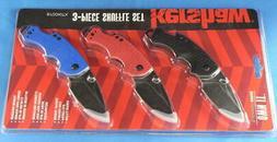 Kershaw 8700 Shuffle Multi-Function Folding Knives set of 3