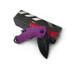 Kershaw 8700PURBW Shuffle Purple Handle 8Cr13MoV Plain Edge