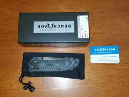 Benchmade 950 Rift Osborne 154CM Satin Blade G10 Axis Lock F