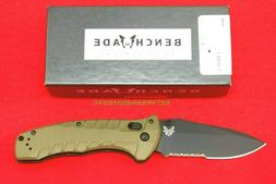 BENCHMADE 980SBK TURRET, AXIS LOCK CPM-S30V, OLIVE DRAB, G-1