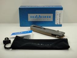 BENCHMADE 928 OSBORNE PROXY FOLDING KNIFE G10 & TITANIUM HAN