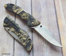BUCK BANTAM COUNTRY LOCK-BACK FOLDING KNIFE WITH POCKET CLIP