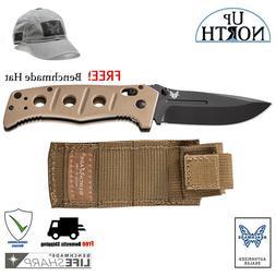 Benchmade 275BKSN Adamas Sand Handle Folding Knife D2 Blade