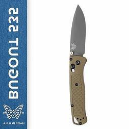 Benchmade 535GRY-1 Bugout Manual Folding Knife Lightweight &