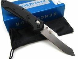 * BENCHMADE Black G-10 OSBORNE Plain Edge S30V TANTO Folding
