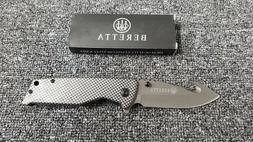 Beretta Assisted Folding Knife w/ Gut Hook and Glass Breaker