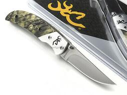 Browning Prism II Mossy Oak Breakup Camo Pocket Folding Knif