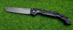 Cold Steel 29AXT Black Stonewash Tanto Folding Knife Pocket
