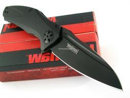 Kershaw NATRIX Black Flipper SpeedSafe Assisted Opening Fold