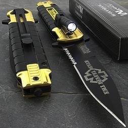 MTECH EMT EMS RESCUE ASSISTED TACTICAL FOLDING POCKET KNIFE