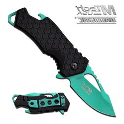 MTech USA ® Small Folding Pocket Spring Assisted Knife with