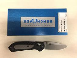 NEW Benchmade 565 Mini Freek Axis Lock Plain Edge Satin S30V